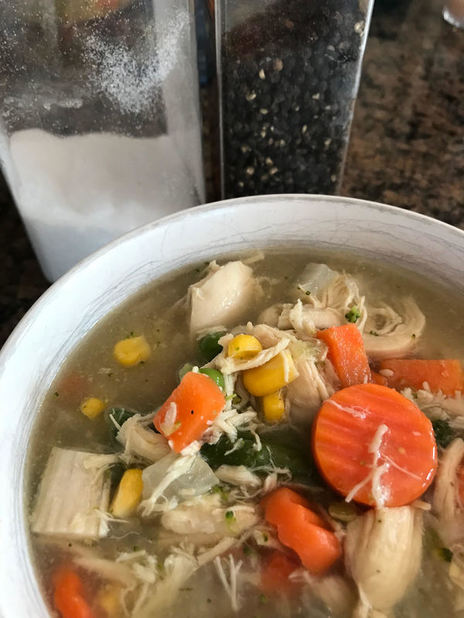 Easy Mini-Detox Chicken Soup