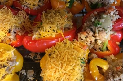 Very Veggie Stuffed Peppers, 1 SP, Weight Watchers