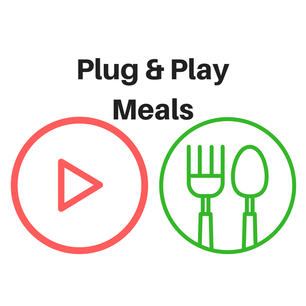 Plug & Play Healthy Meals for Busy People